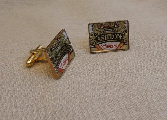 Custom made Cuff links - Cigar bands, logos, military crests
