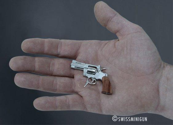 World's Tiniest Revolver by SwissMiniGun | SNEAKHYPE