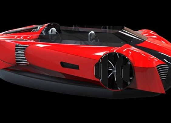 Sports car-inspired design aims to bring hovercraft into the 21st century