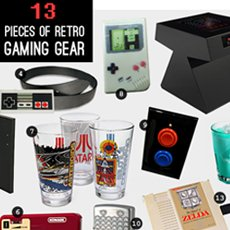 13 Pieces of Retro Gaming Gear | Cool Material