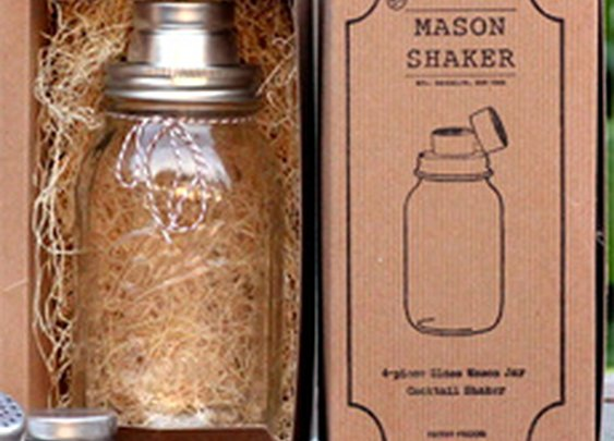 Mason Jar Cocktail Shaker | Cool Material