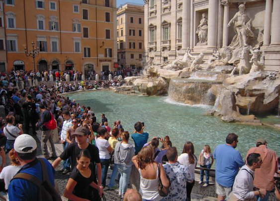 You would not believe, but tourists throw 700,000 EUR worth of coins per year in this fountain in Rome   Today I Learned Something New
