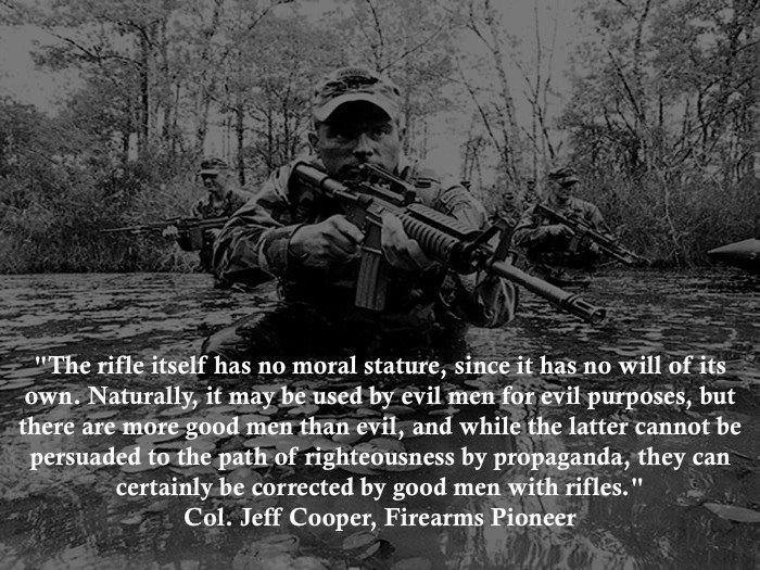 The wisdom of Jeff Cooper