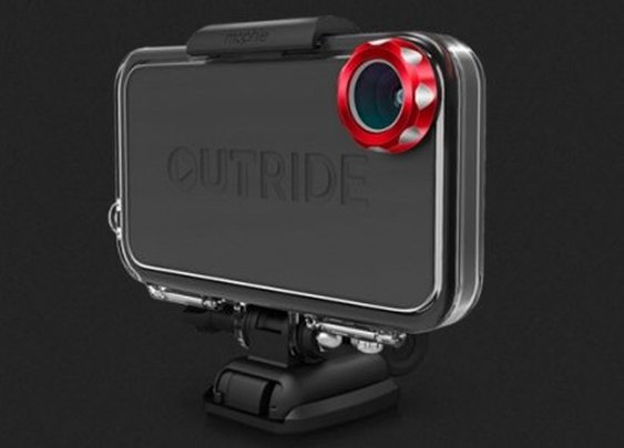 OUTRIDE case turns the iPhone into an actioncam