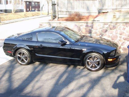 2008 Ford Mustang Bullitt in Black