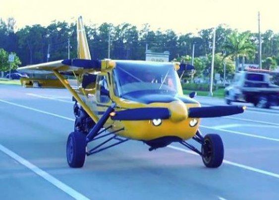 Plane Driven conversion kit lets a Glasair aircraft be driven as a trike