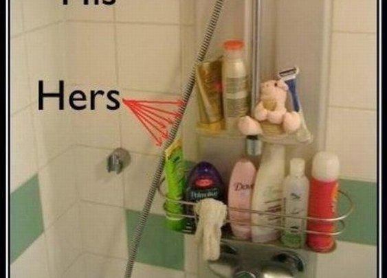Couples bathroom