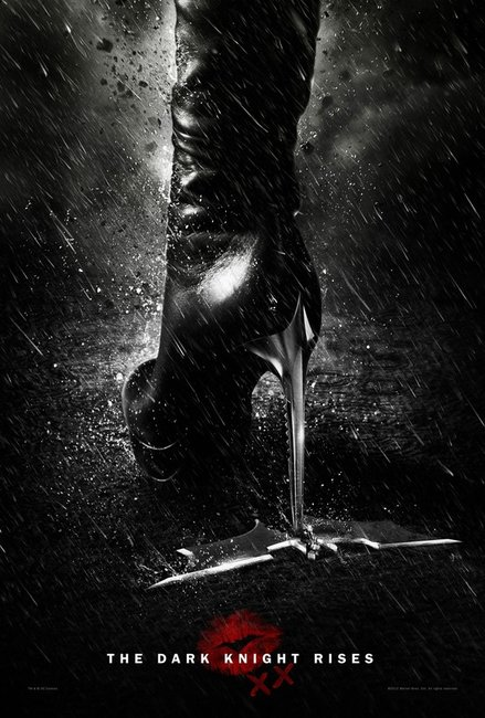 The Dark Knight Rises Cat-Woman Poster