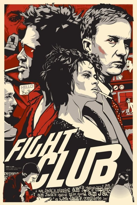 Awesome Fight Club Poster