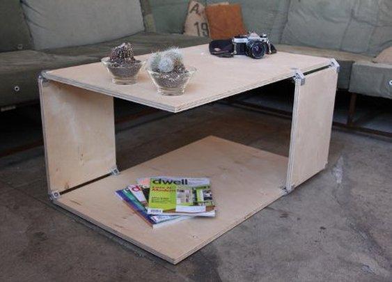Simple Brackets Make DIY Furniture Dreams Come True
