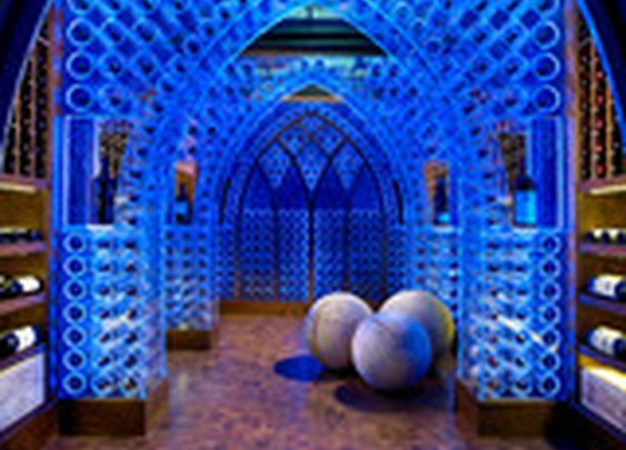 Pool House & Wine Cellar - modern - wine cellar - nashville - by Beckwith Interiors