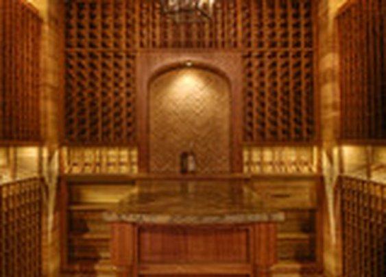 Gabriel Builders - traditional - wine cellar - other metros - by Gabriel Builders Inc.