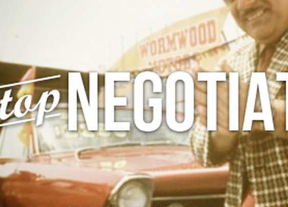Stop Negotiating – It Doesn't Work | N2Growth Blog