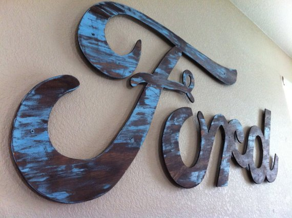 Vintage Name Wall Art by AaronsDesigns on Etsy