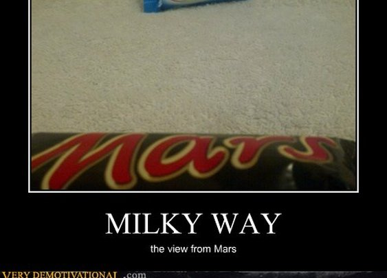 MILKY WAY...the view from Mars