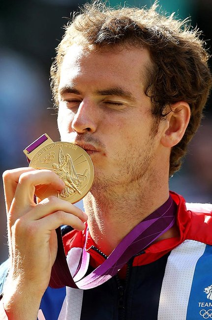 Andy Murray clinches Olympic gold at Wimbledon