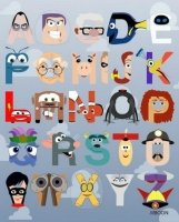 Pixar Alphabet « SciFi TAKEOVER