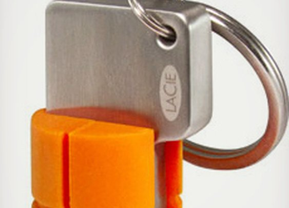 LaCie USB 3.0 RuggedKey | Cool Material