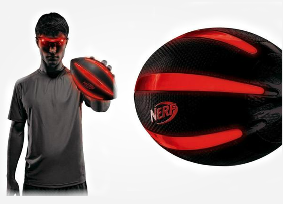 Nerf Firevision Football   GearMoose