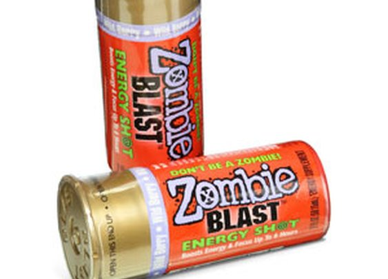 Zombie Blast Energy Shots- 12 Pack