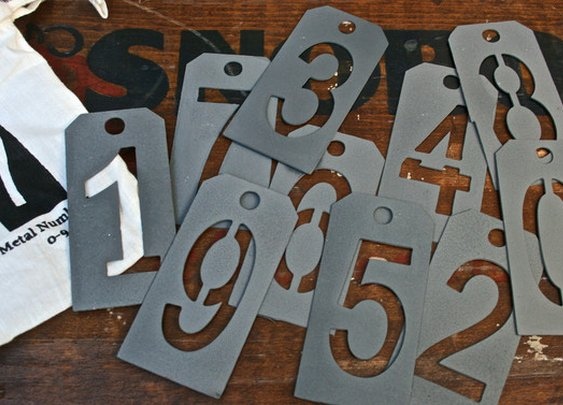 Petaluma Supply Co. - Giverny Number Set