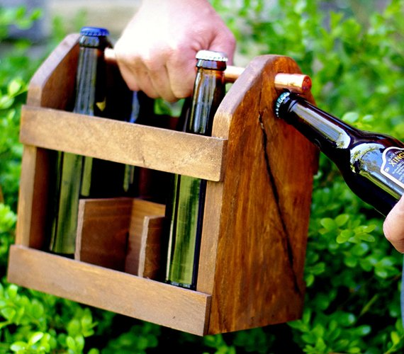 Home Brew Six Pack Carrier   Cool Material
