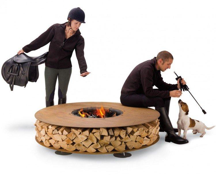 Urban Outdoor Fireplaces by Ak47 Studio