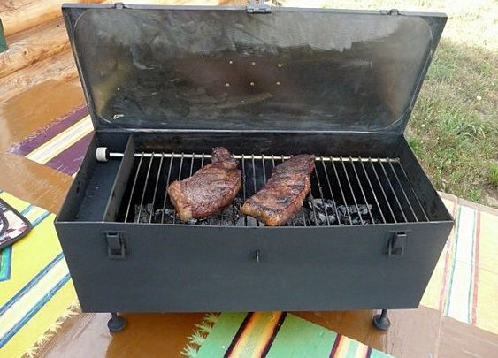 DIY- Portable Tool Box Grill