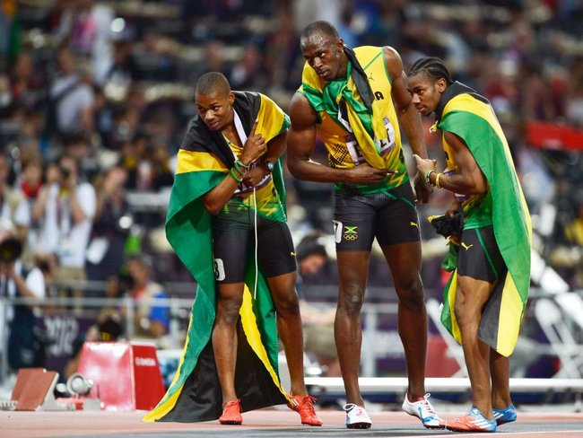 Jamaicans celebrate 200m clean sweep - ABC News ...