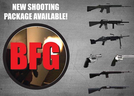 THE GUN STORE | TRY ONE! SHOOT A REAL MACHINE GUN