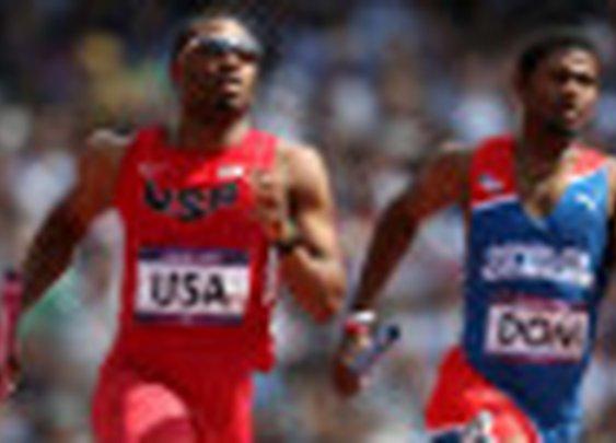 U.S. runner finishes relay on broken leg - CNN.com