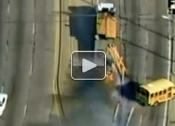 A real life police chase that would make Michael Bay jealous (Video)