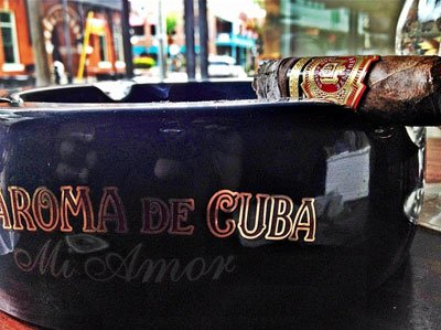 Drinks and cigars in Ybor City