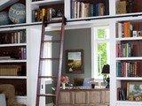 sliding library ladder