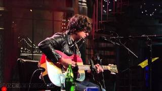 Ryan Adams - Ashes & Fire (Live on Letterman) - YouTube