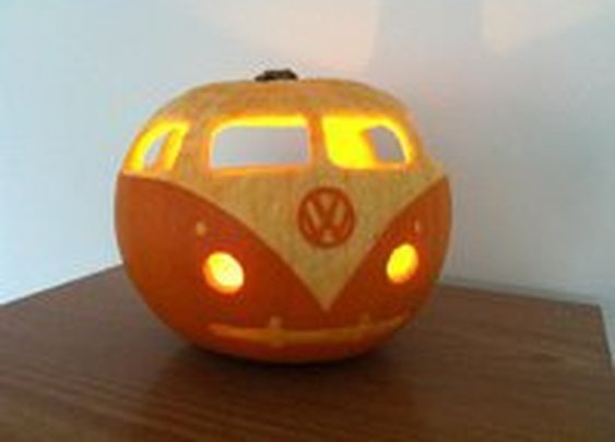 Fancy - VW Campervan Pumpkin