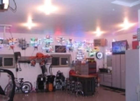 Garage Man Cave Ideas & Designs | ManCaveKingdom.com