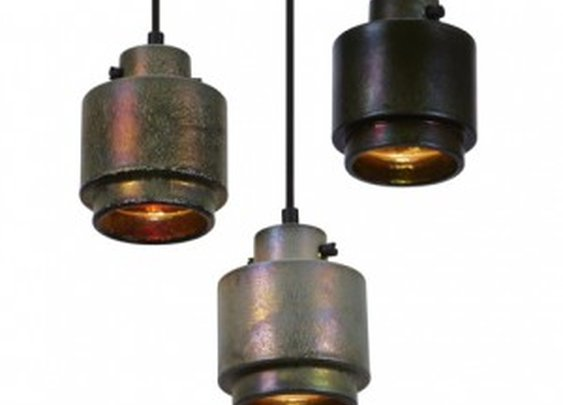 Lustre pendant lamps by Tom Dixon