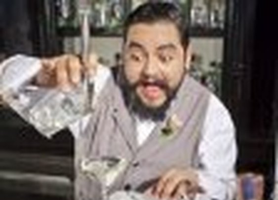 J.P. Caceres, D.C. Mixologist, Talks Mustaches, Cocktails And His Gonzo-Style