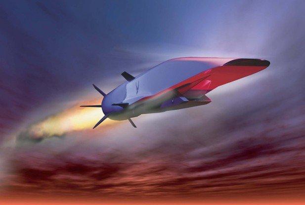 X-51A Waverider Hypersonic Aircraft
