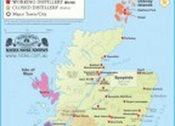 Know Your Single Malt Regions