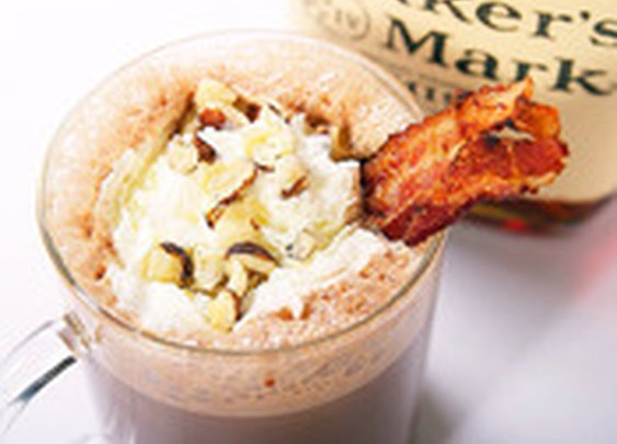 Bacon, Bourbon, and Hazelnut Hot Chocolate | Serious Eats : Recipes