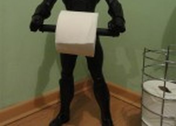 Batman Toilet Paper Holder: The Dark Knight Wipes