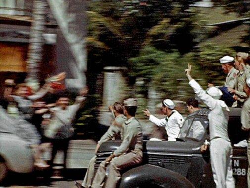 VJ Day, Honolulu Hawaii, August 14, 1945 on Vimeo