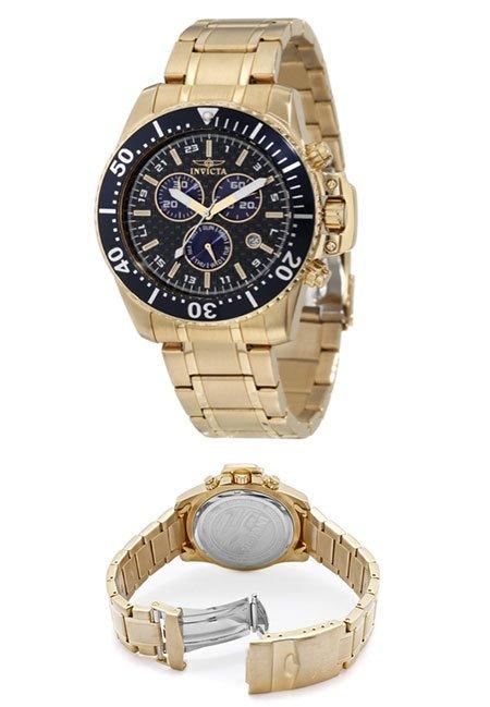 Invicta Men's 11288 Pro Diver 18K Gold Carbon Fiber Watch Gets $600 Reduction to Under $95 - TechEBlog