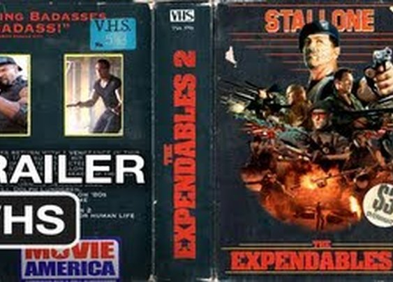 The Expendables 2 Ultimate 80's Vintage Trailer