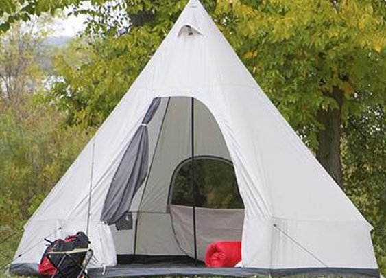 Guide Gear Single Wigwam Tent - 509350, Tents at Bargain Outfitters