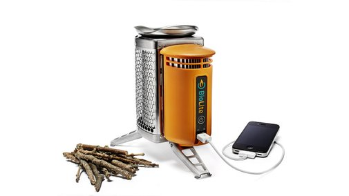 Charge your iPhone with FIRE!!