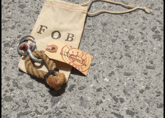 Vintage Shipping Rope FOB by SoapboxGypsy on Etsy