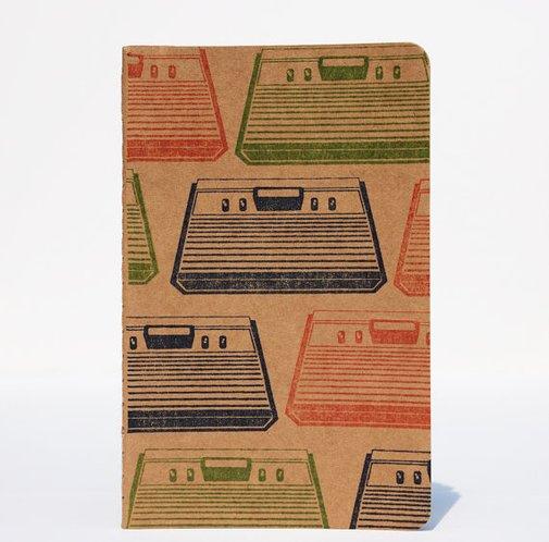 Retro Gaming Atari Moleskine